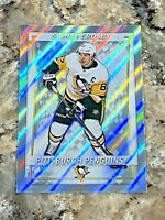 2020-21 Topps FOIL Sidney Crosby Pittsburgh Penguins NHL Hockey Sticker #378