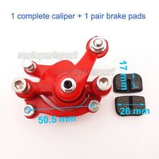 Rear Disc Brake Caliper For Chinese Mini Gas Electric Go Kart GoPed Scooter Quad