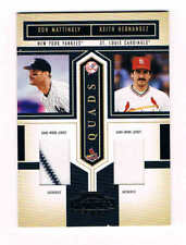 2004 Playoff Honors Quad Material #1  Mattingly/Grace Clark/Hernandez SHIPS FREE