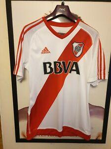 River Plate 2016 -2017 Home Shirt by adidas - Mens - BNWT