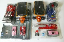 Takara Rescue Mecha Collection 1/144 Thunderbird 2 Pod No.1 & No.2 Vehicles Used