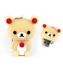 Carino Rilakkuma Orso Rosa Forma Animali 16gb Novità USB Memory Stick Flash Drive