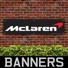 McLaren PVC Banner Garage Workshop MP4-12C F1 P1 570s 650s Sign (BANPN00124)