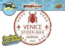 Spider-Man Far From Home Movie GREETINGS FROM ABROAD Trading Card Insert GFA-4