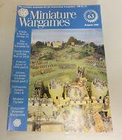 Miniature Wargames Number 63 August 1988 oop SC