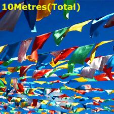 40 Tibetan Prayer Flags 27x15cm flags Religion Buddhist Spirit spiritual peace