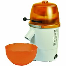 Hawos Novum Grain Mill with Funnel and Bowl Color: orange 4.4 oz / Minute