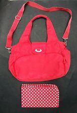 Mothercare Red Changing Bag Baby Shoulder/Handbag <C2420