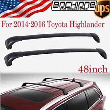 OE Roof Rack Cross Bars For 2014-2017 Toyota Highlander LE / LE Plus / Hybrid LE