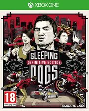 Sleeping Dogs Definitive Limited Edition For XBOX One (New & Sealed)