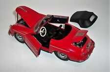 FRANKLIN MINT 1/24 1955 PORSCHE 358 SPEEDSTER CONVERTIBLE RED MINT