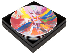 DAMIEN HIRST SPIN PLATE BOX SET : LIMITED EDITION : BONE CHINA