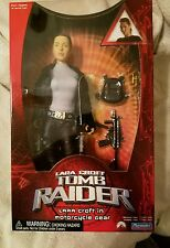 Lars Croft in MOTORCYCLE  GEAR Action Figure Tomb Raider