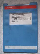 VW Golf 2 Syncro+Country Reparaturhandbuch Reparaturbuch 4Z Getriebe+Achsantrieb