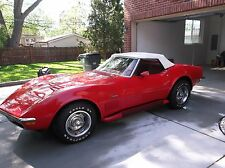 1970 Chevrolet Corvette red