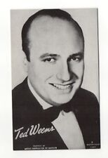 Ted Weems 1940's-50's Mutoscope Music Corp of America Arcade Card Postcard