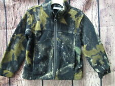 Columbia fleece camouflage jacket  SIZE 4T