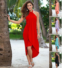 femmes sexy été Boho Long longue soirée robe longue plage robes robe de soleil