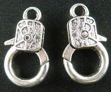 30pcs Tibetan Silver Lobster Clasps & Hooks 23.5x14x5mm b0006