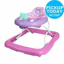Chad Valley 3 Height Positions upto 12kg Baby Walker - Pink - 6+ Months