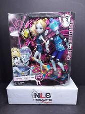 """Monster High 2 Doll Pk Lagoona Blue & Gillington """"Gil"""" Webber Wheel Love"""