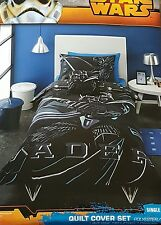 SINGLE BED Star Wars Sith Lord Quilt Doona Duvet Cover Bedding Set