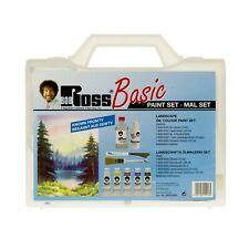 Bob Ross Basic Paint Set Starter Kit with Oil Colour, Knife, Brush & Accessories