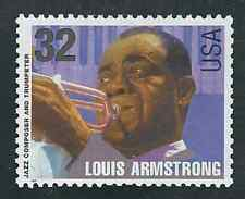 Scott # 2984...32 Cent...Louis Armstrong ...5 Stamps...MNH