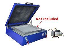 60*70 cm Vacuum Exposure Unit 24x28'' Precise Screen Printing Compressor Outside
