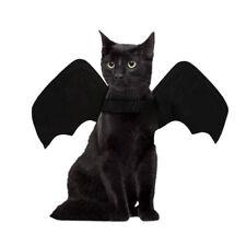 Animali Halloween Costume Pipistrello Ali Gatto Cane Cucciolo Festa Apparel Nero