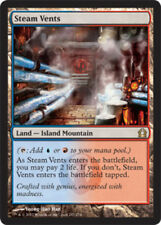 1x Steam Vents NM-Mint, English Return To Ravnica MTG Magic