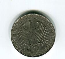 Münzen BRD  2-Mark- Max Planck 1962 D