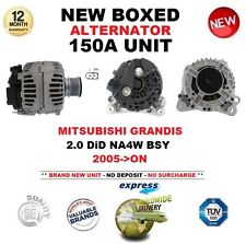 FOR MITSUBISHI GRANDIS 2.0 DiD NA4W BSY 2005-ON ALTERNATOR 150A UNIT OE QUALITY