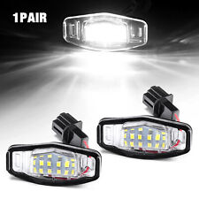2 x 18 Led License Plate Light Lamp For Acura Tl Rl Tsx Mdx Honda Civic Accord