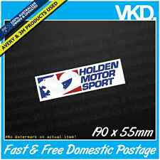 Holden Motor Sport Sticker/Decal - Commodore VR VS V8 Brock Brocky 05 Unofficial