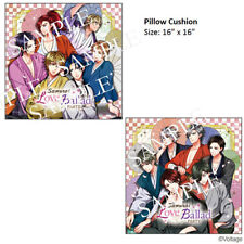 "Samurai Love Ballad PARTY: 16"" Square Pillow Cushion Voltage Exclusive"