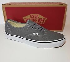 Mens Vans Trainer Shoe Mesh Grey Size 8.5 UK New with Tags