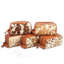 Leather Dopp Kit Cowhide Leather Toiletry Bag Groomsmen Gift Shaving Kit For Men