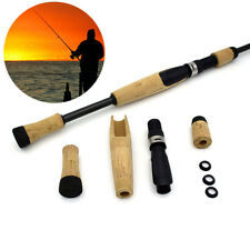 DIY Cork Fishing Rod Handle Reel Seat For Repair Composite Spinning Grip Kit