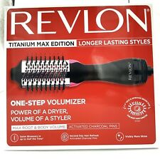 Revlon-Titanium Max Edition One-Step Volumizer.Power Of A Dryer Volume Of A Styl