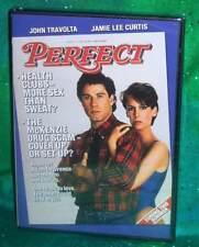 BRAND NEW RARE OOP JOHN TRAVOLTA JAMIE LEE CURTIS PERFECT MOVIE DVD 1985
