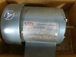 Lincoln 3/4HP 3420RPM 575V 56 TEFC 3Ph 9A 60Hz ! WOW !