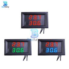 Dual Digital Led Display Waterproof Temperature Sensor Thermometer Ntc Probe