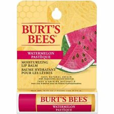 [BURT'S BEES] 100% Natural Beeswax Lip Balm Made in USA (WATERMELON) NEW