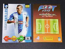 LAURENT BATTLES FC GRENOBLE PANINI FOOTBALL ADRENALYN CARD 2009-2010