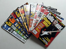 GUITAR PLAYER Magazines Lot of (12) 2001-2002 CLAPTON Van HALEN Brian SETZER etc