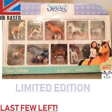 Dreamworks Spirit Riding Free 10 Piece COMPLETE Horse collection Doll Set Lucky