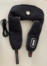 Brookstone Neck & Shoulder Sport Massager with Heat TS-502-BK-SPORT