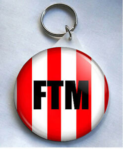 FTM 58mm Keyring Sunderland SAFC