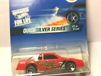 Hot Wheels 1997 Red Chevy Stocker w/3 Spoke Wheels #545 Mint on Card
